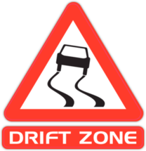 Наклейка Drift Zone