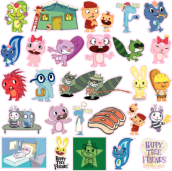 Happy Tree Friends stickerBomb