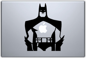 Наклейка Batman на Macbook
