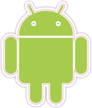 Наклейка Android