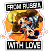 cheburashka from russia with love