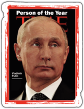 Наклейка PERSON OF THE YEAR