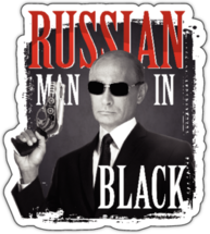 Наклейка Russian Man In Black